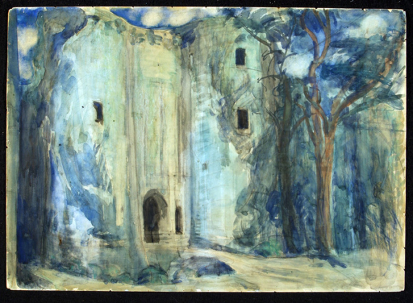 Шервашидзе А. К. Тристан и Изольда (Мариинский театр, 1909)